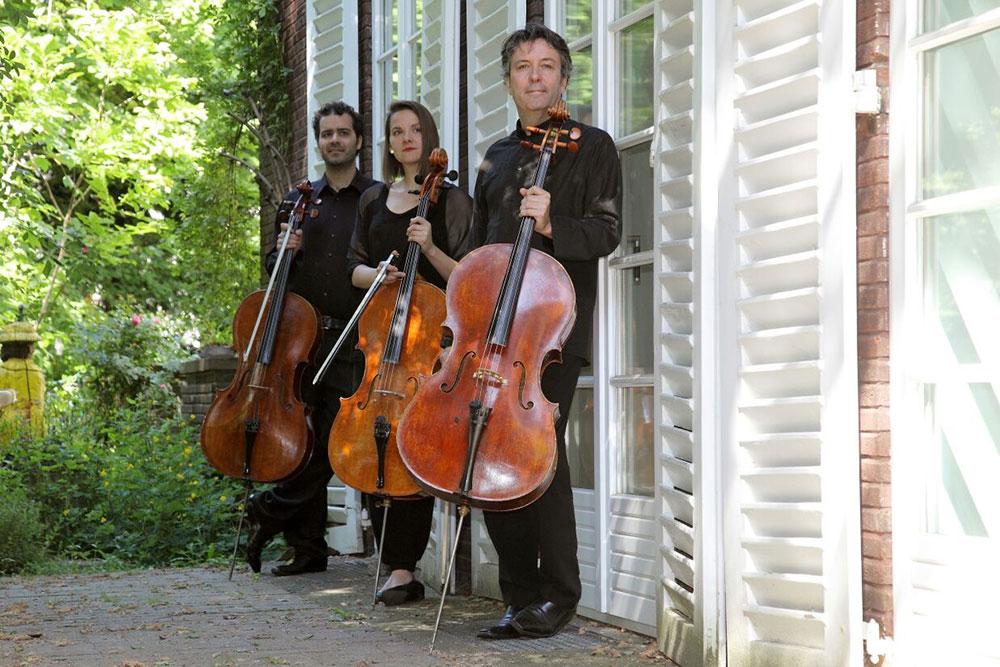 Das Sponte-Trio Lynda Anne Cortis, Matthias Boutros und Matias de Oliveira Pinto